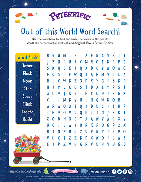 Out of This World Word Search