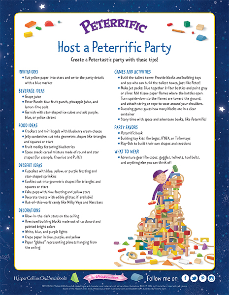 Party Tips – Host a Peterrific Party