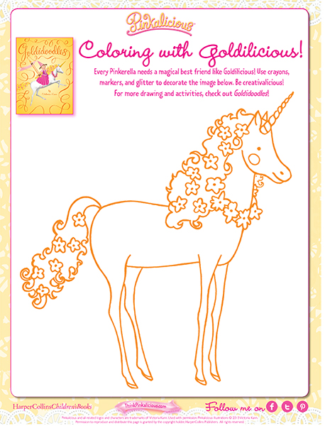 Coloring with Goldilicious