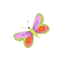 Icons 0004 Pink Butterfly