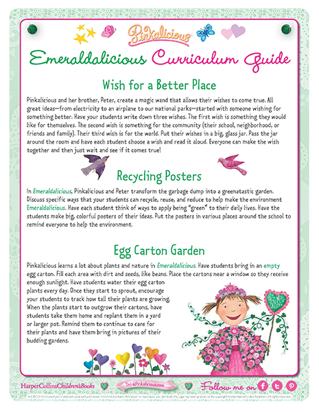 Emeraldilicious Curriculum Guide
