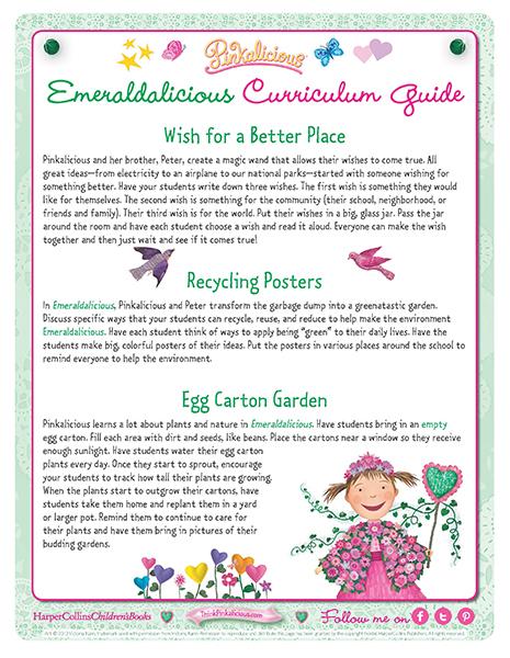 Emeraldilicious Curriculum Guide